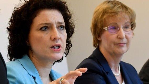 Carola Reimann (50, SPD) | Neue Ministerin steht zu Gesundheitsregion