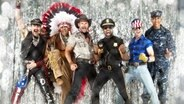 "Die Band ""Village People"". © VP"