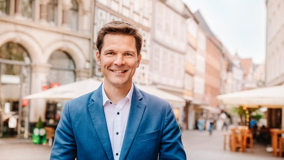Steffen Krach, SPD candidate for president of the Hanover region.  © Anne Hufnagl