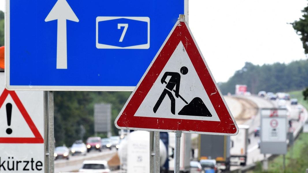 Ausbau der A7 kostet erheblich mehr als geplant