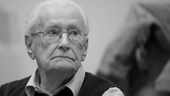 Früheres SS-Mitglied Oskar Gröning ist tot