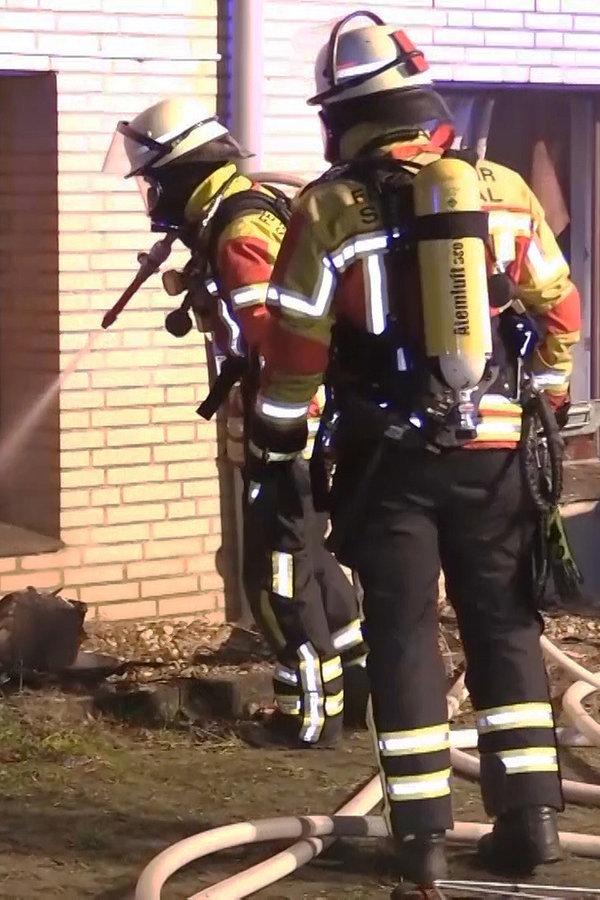 32-Jähriger bei Feuer in Seevetal in Lebensgefahr