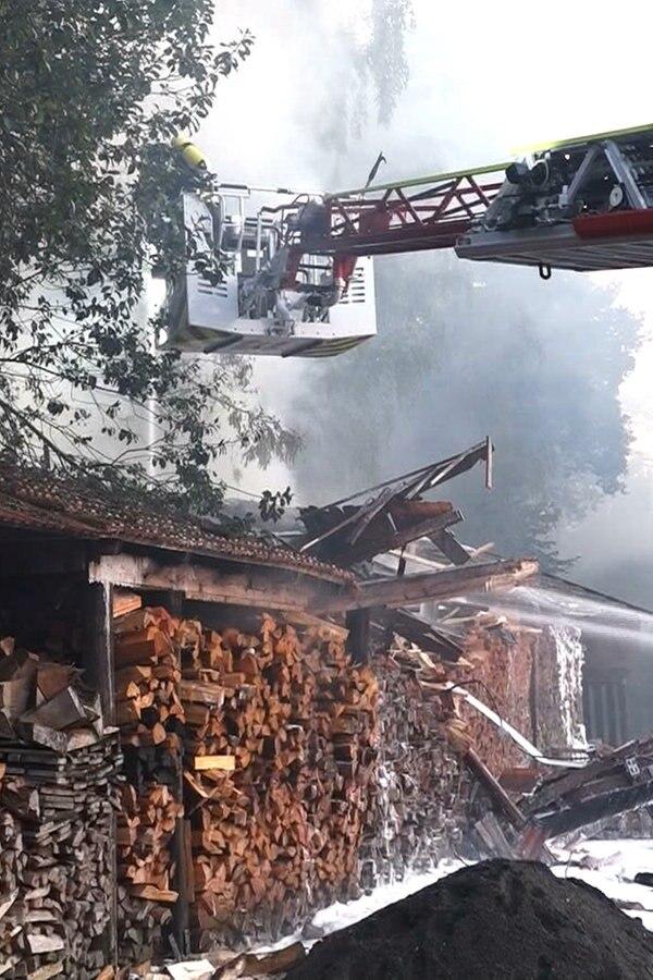Cloppenburg: Schon wieder brennt ein Schuppen