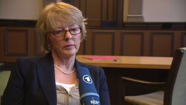 Katharina Krützfeldt, Sprecherin am Landgericht Verden. © NDR