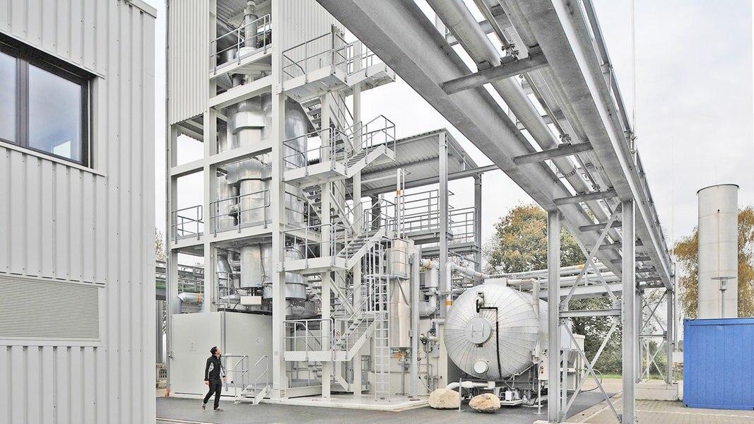 Neue Anlage soll Ökostrom zu Gas umwandeln