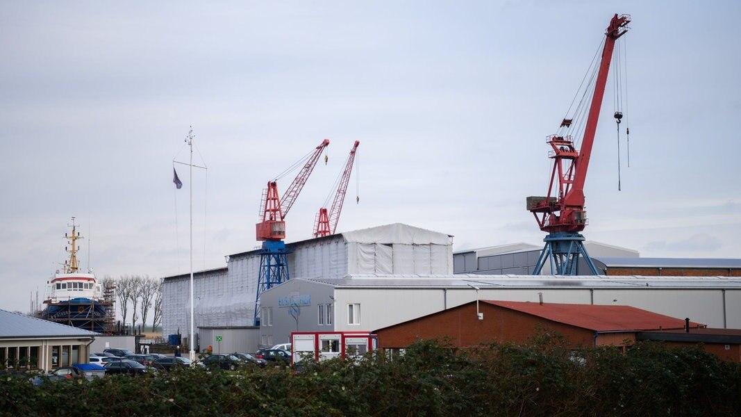 Makler sucht Käufer für Elsflether-Werft-Gelände