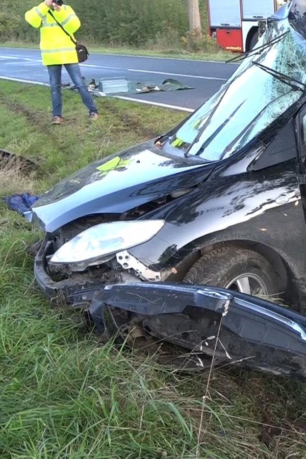 22-Jähriger bei Unfall schwer verletzt