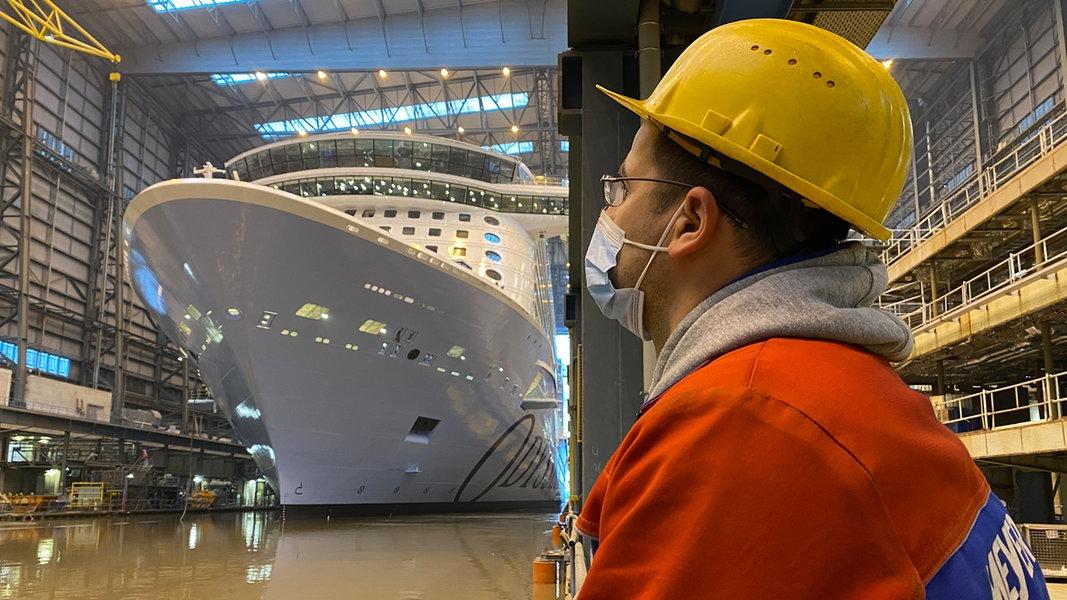 Meyer Werft will offenbar 650 Arbeitsplätze abbauen - NDR.de
