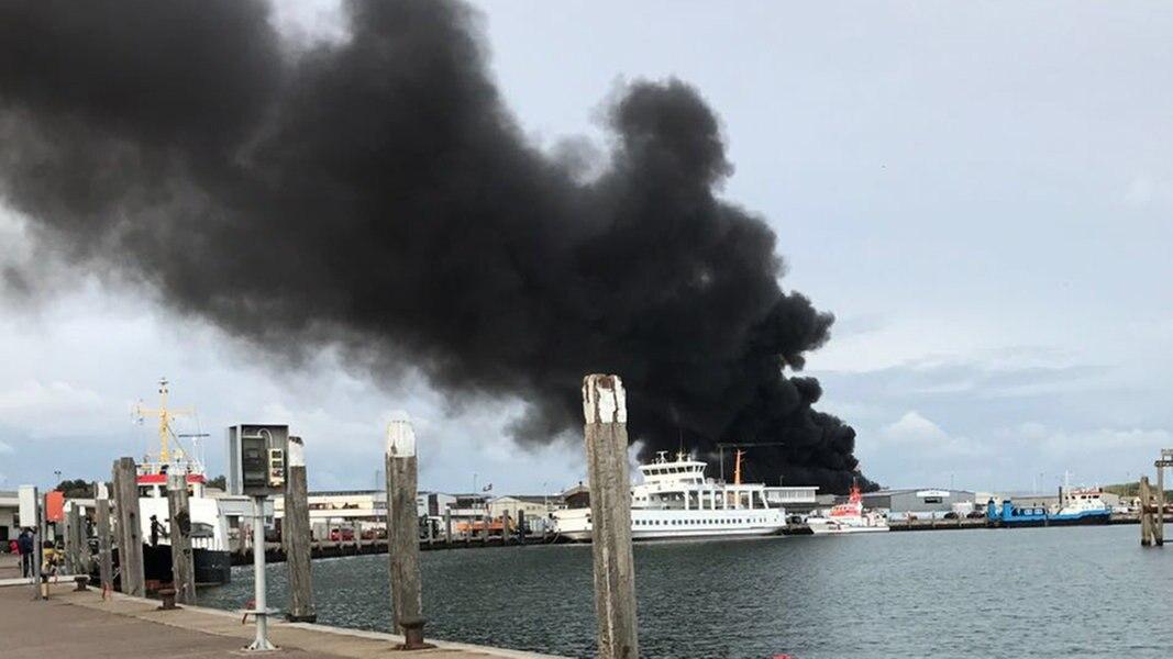 Feuer Auf Norderney