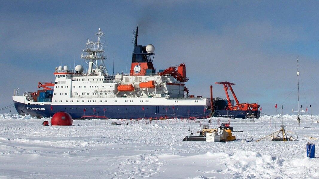 Arktis-Expedition: Probleme beim Crew-Austausch