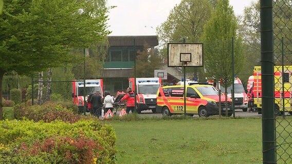 Großeinsatz In Bookholzberg Reizgas-Alarm in der Oberschule