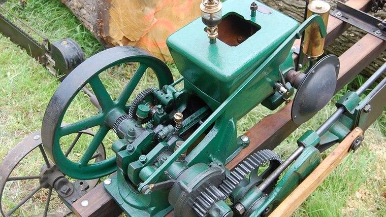 Die Mechanik einer alten Säge. © NDR Fotograf: Carsten Valk