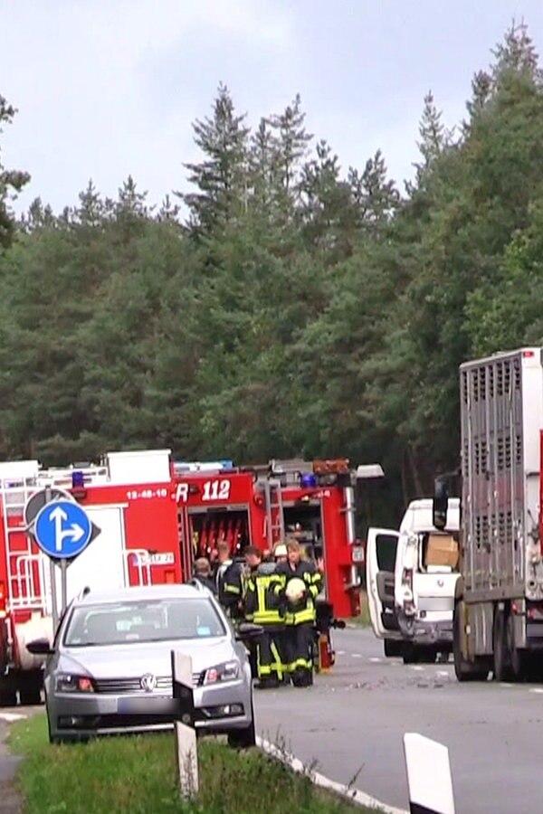 Zwei Schwerverletzte nach Unfall bei Friesoythe