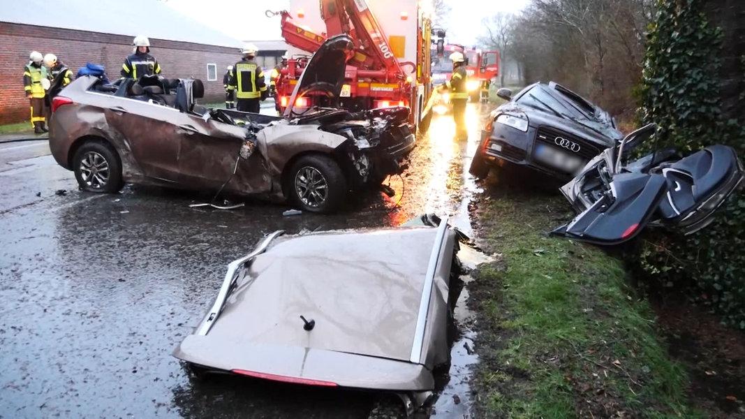 47-Jähriger stirbt bei Autounfall bei Großefehn
