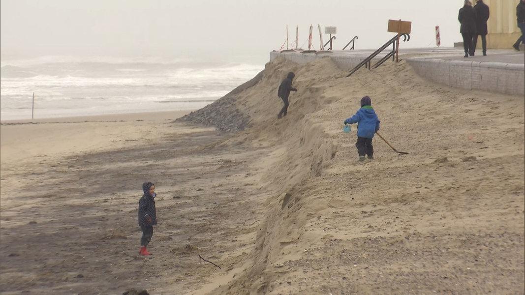 Wangerooge: Furcht vor nächster Sturmflut