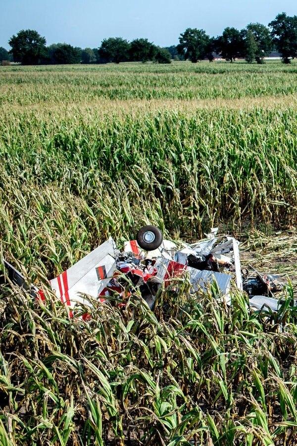 Flugzeug-Absturz: Ermittler suchen nach Ursache