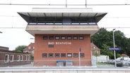 Der Bahnhof in Bad Bentheim. © dpa-Bildfunk Foto: Mohssen Assanimoghaddam
