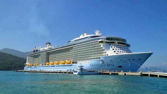 "Die ""Quantum of the Seas"" in der Karibik"