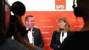 SPD-Vorsitz: Pistorius und Köpping für Basisnähe