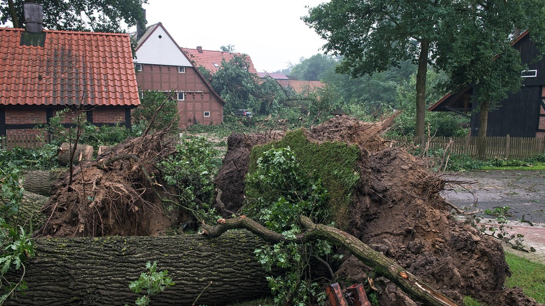 Unwetter Oldenburg