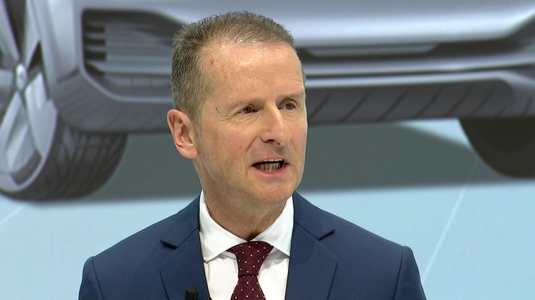 """VW-Chef Diess: """"Energiewende paradox"""""""