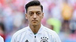 Porträtbild des deutschen Fußball-Nationalspielers Mesut Özil. © dpa picture alliance Foto: Markus Ulmer