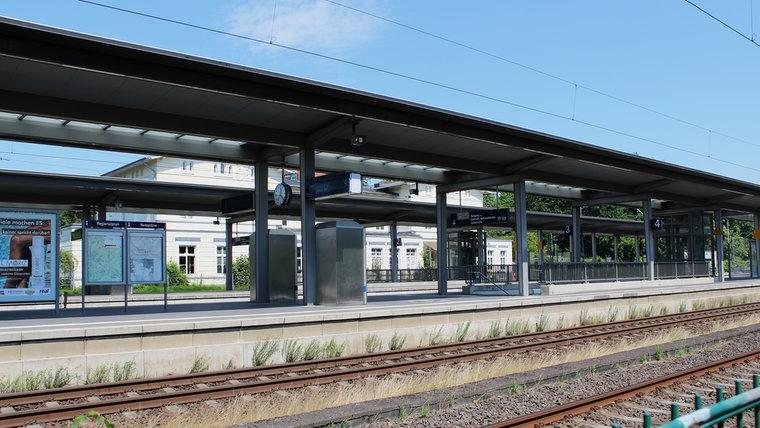 Der Bahnhof in Ahrensburg. © NDR Foto: Doreen Pelz