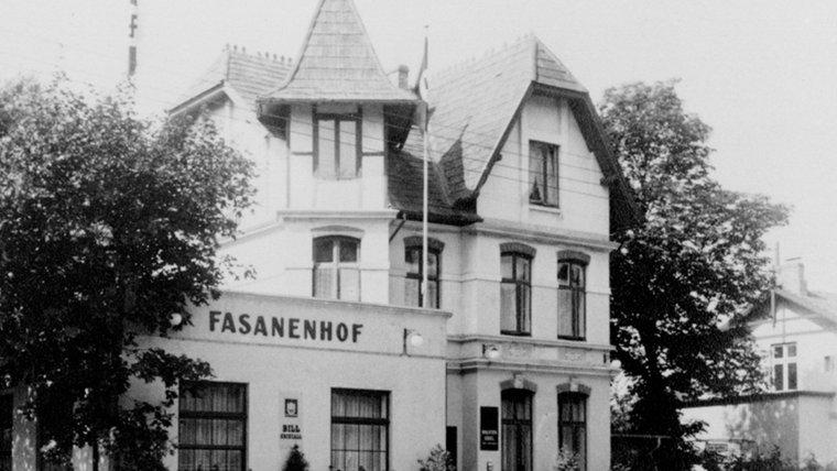 Der Fasanenhof in Ahrensburg um 1943. © Stadtarchiv Ahrensburg
