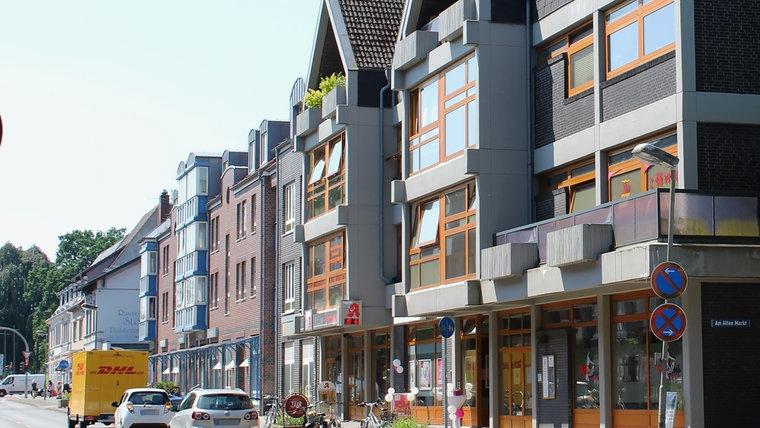 Die Große Straße in Ahrensburg. © NDR Foto: Doreen Pelz