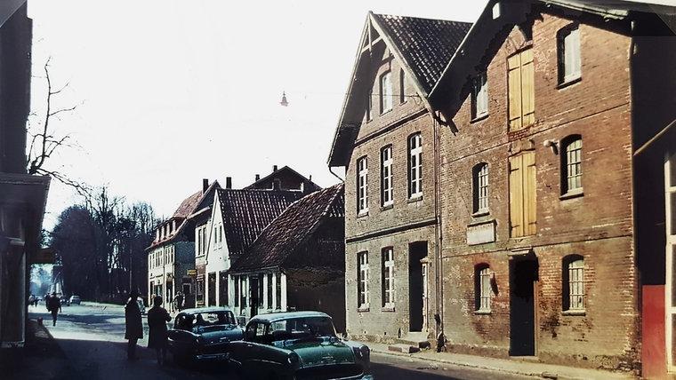 Die Große Straße in Ahrensburg in den 1960er Jahren. © Stadtarchiv Ahrensburg