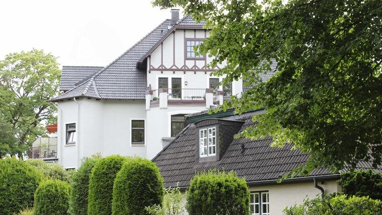 Die Villa Rickmer in der Parkallee 2 in Ahrensburg. © NDR Foto: Doreen Pelz