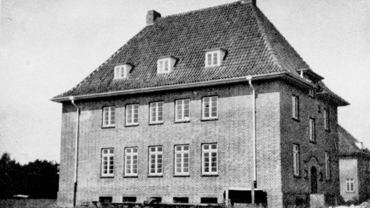 Die Parkallee 50 in Ahrensburg um 1931. © Stadtarchiv Ahrensburg