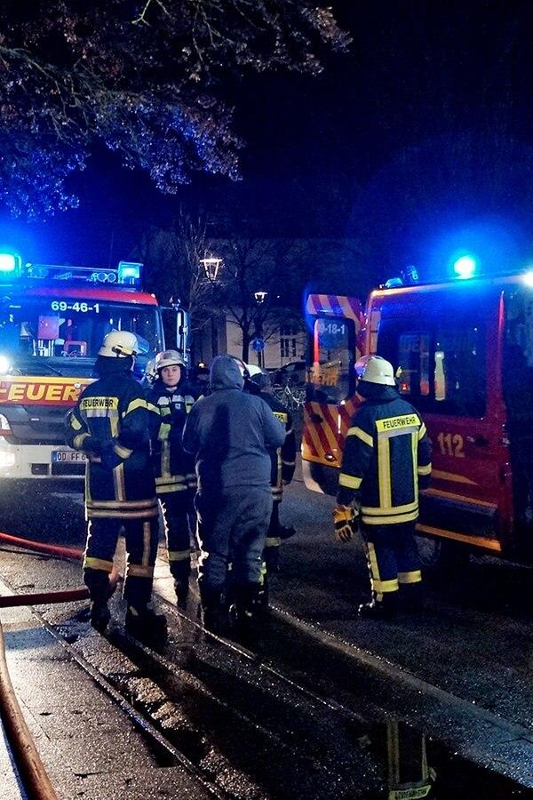 Feuer: Mehrfamilienhaus in Ahrensburg evakuiert