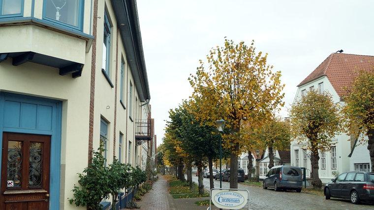 Heutige Langestraße in Arnis. © NDR Foto: Jan Altmann