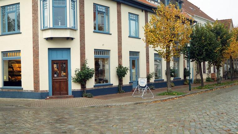 Das heutige Kaufhaus in Arnis. © NDR Foto: Jan Altmann