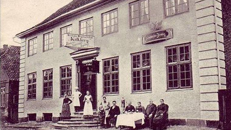 Historisches Foto der Gastwirtschaft Höhlenkrug in Bad Segeberg. © NDR Foto: Hans-Werner Baurycza