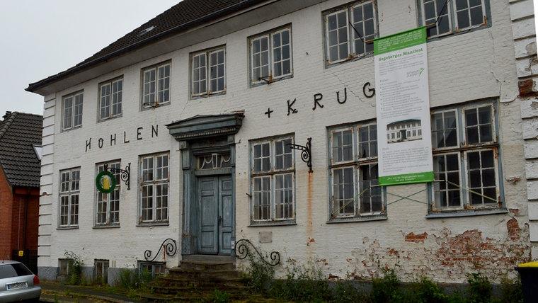 Die Gastwirtschaft Höhlenkrug in Bad Segeberg. © NDR Foto: Anne Passow