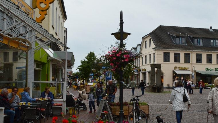 Die Hamburger Straße in Bad Segeberg. © NDR Foto: Anne Passow