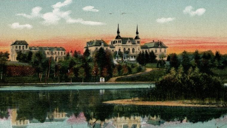 Bild des Kurhauses in Bad Segeberg von 1910. © NDR Foto: Hans-Werner Baurycza
