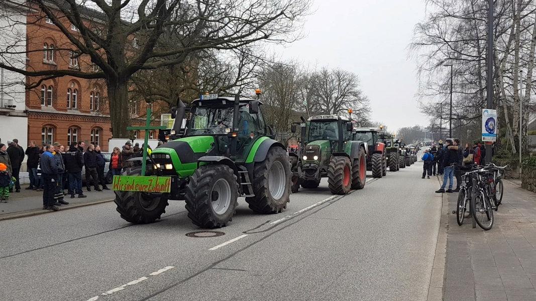 Bauern Demonstration