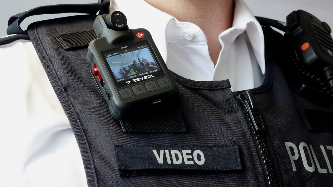 Polizei in MV bekommt Bodycams