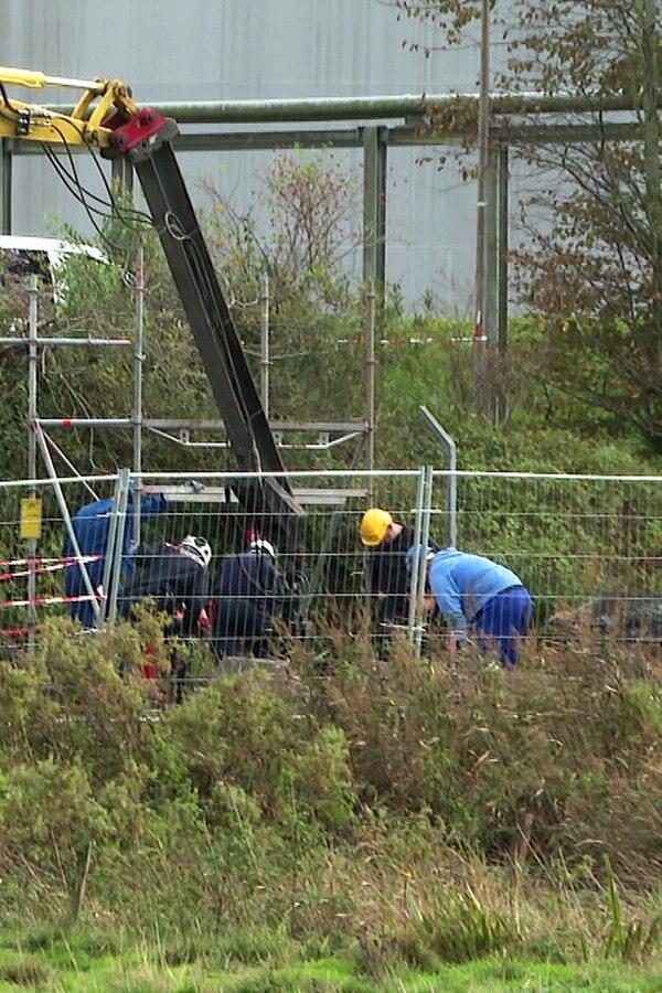 Blindgänger neben Raffinerie Heide entdeckt