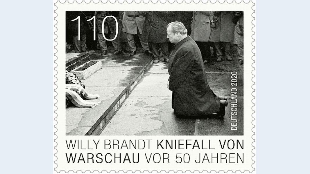 Großes Interesse an neuer Willy Brandt-Briefmarke in Lübeck