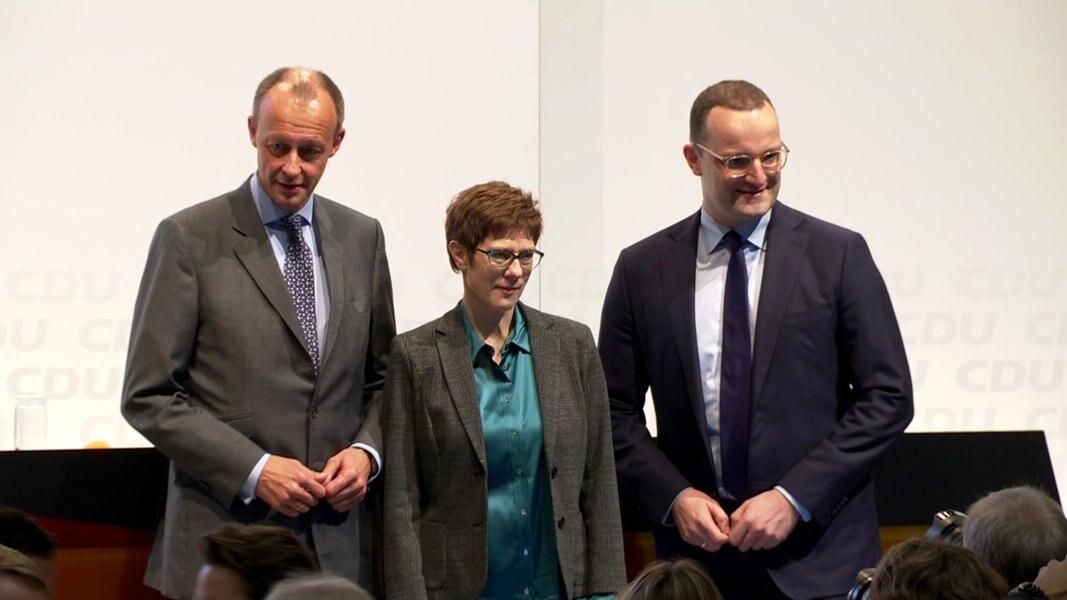 Wettstreit um CDU-Parteivorsitz gestartet