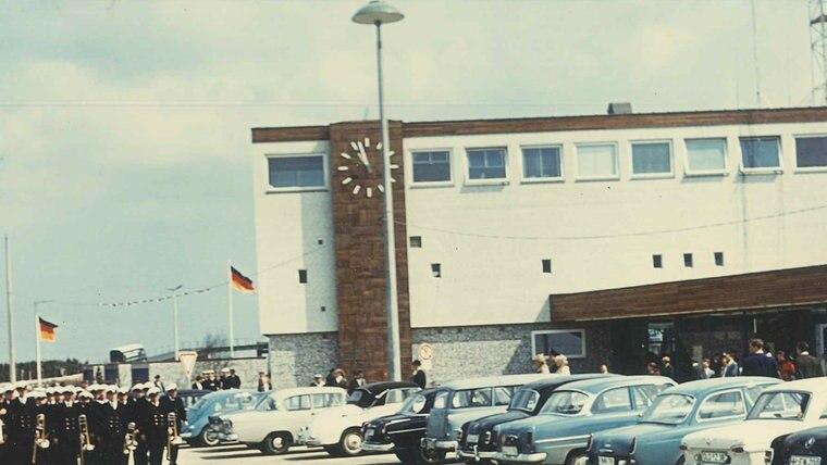 Der Fährhafen Bahnhof auf Fehmarn. © Karl-Wilhelm Klahn  Foto: Karl-Wilhelm Klahn