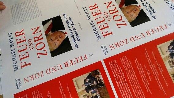 Trump-Enthüllungsbuch auch auf Deutsch