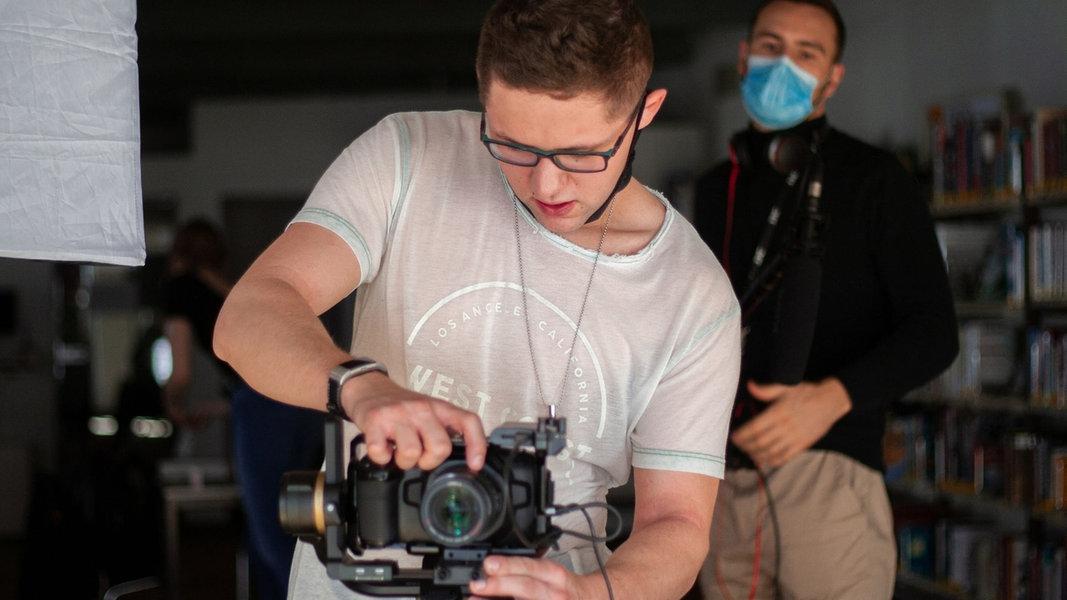 Quickborner Filmstudent macht sich für Autismus stark