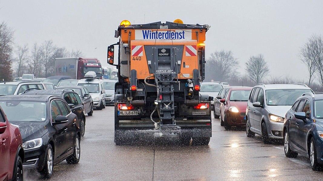 Mit Dem Regen Kam Die Glätte Ndrde Nachrichten Schleswig Holstein