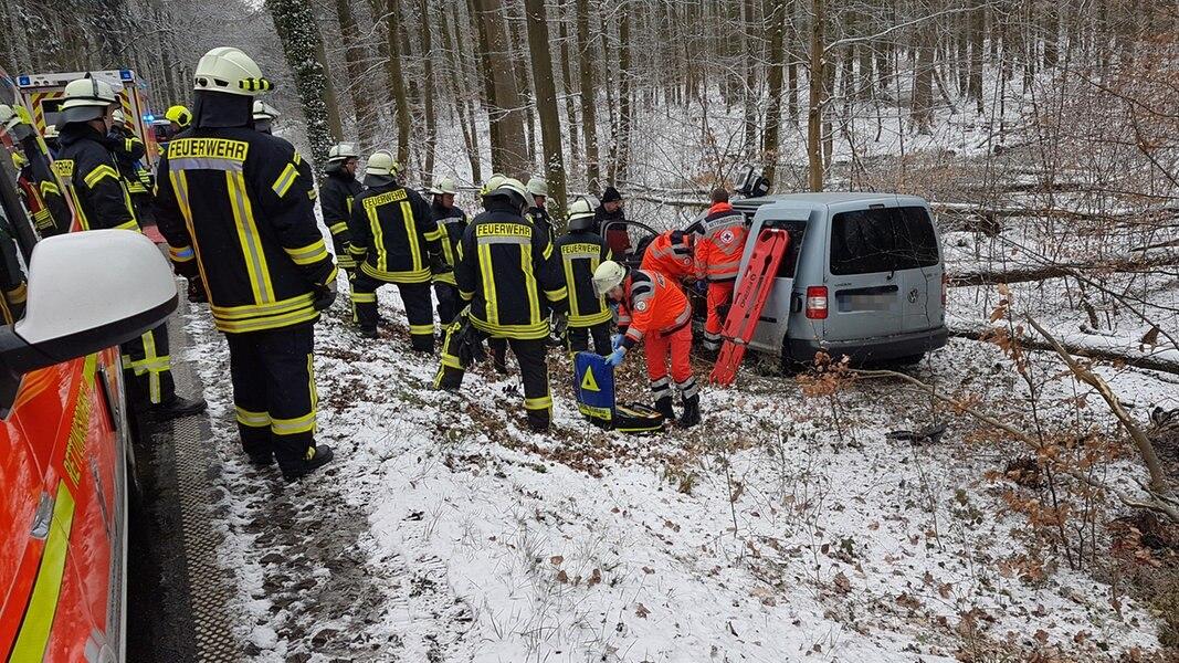 Unfälle wegen Schnee und Glätte in SH