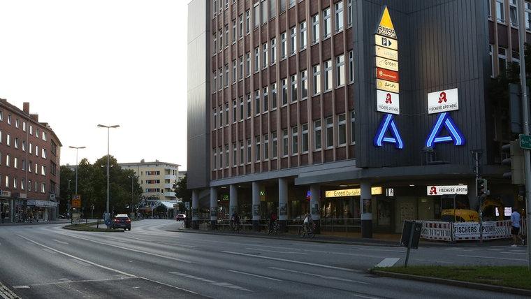 Das Merkurhaus in der Holtenauerstraße. © NDR Foto: Sebastian Parzanny